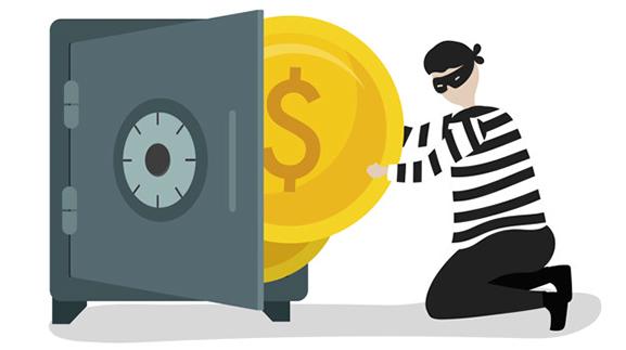 سرقت بانک