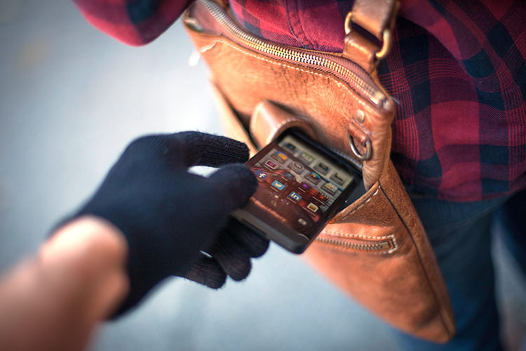 شکایت سرقت موبایل