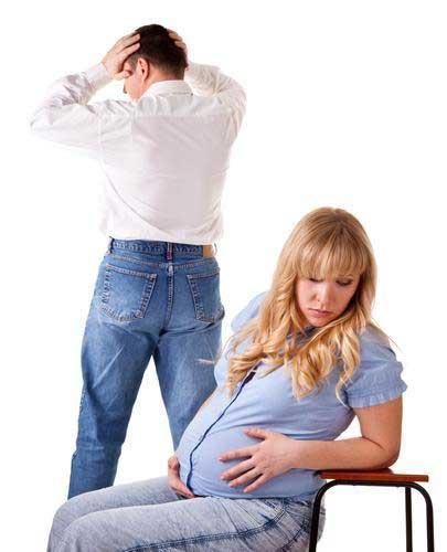 طلاق زن باردار
