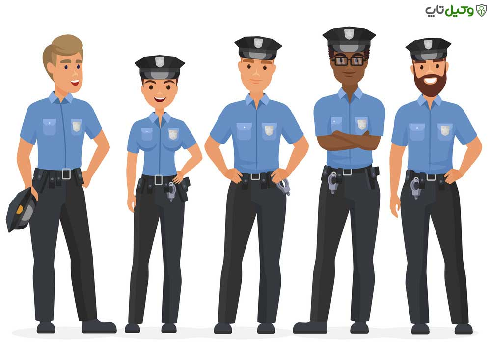 مقامات پلیس اداری