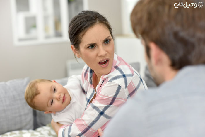 ممانعت از ملاقات فرزند