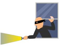 متن شکایت از سرقت اموال منزل