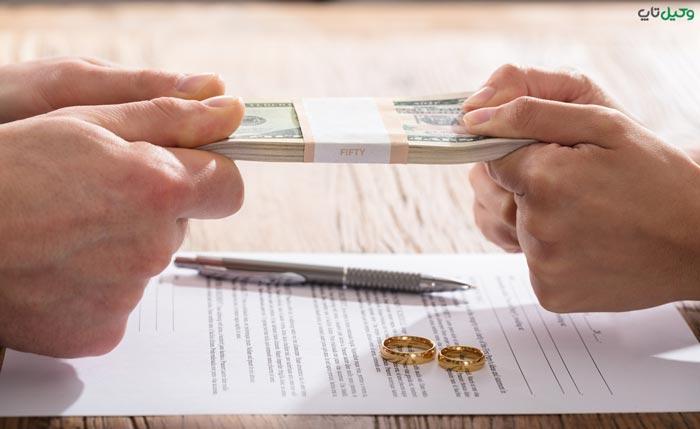 ارث در صورت طلاق