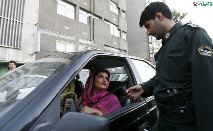 توقیف خودرو به علت کشف حجاب