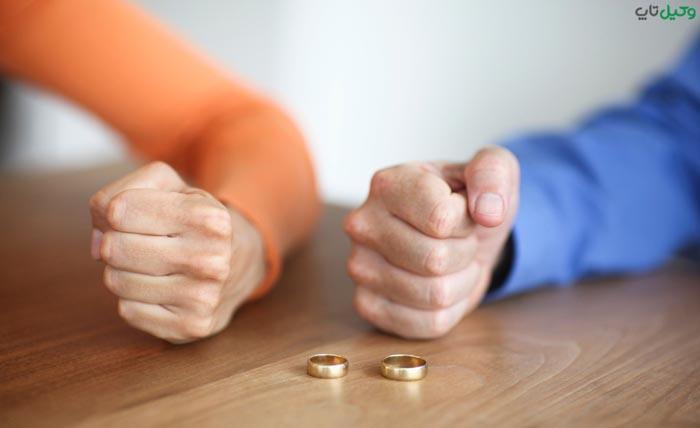 طلاق گرفتن زن به دلیل کتک کاری