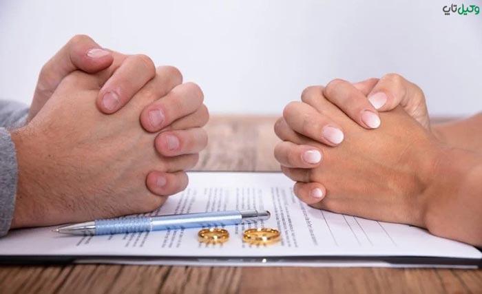 طلاق زن به علت خیانت مرد