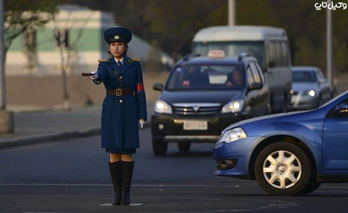 رانندگی در کره شمالی