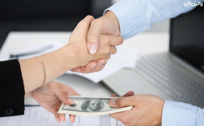 انواع حق مالی وغیر مالی