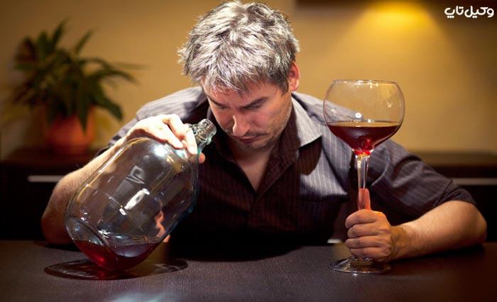 مجازات برپا کردن محل شراب خواری