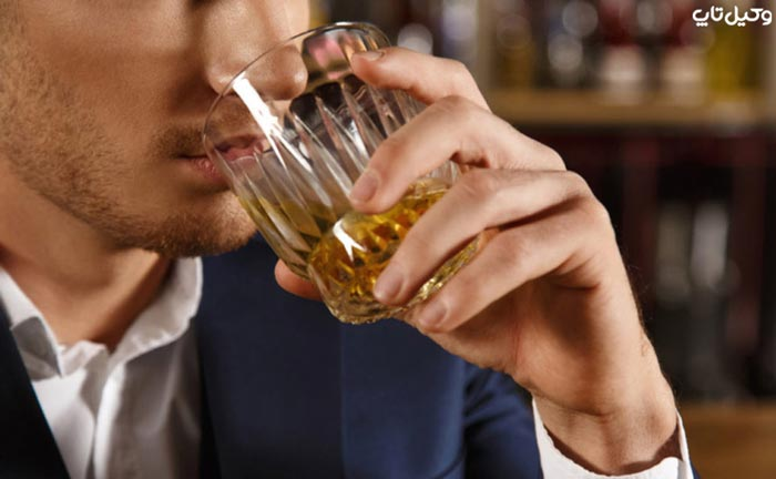 جرم مصرف مشروب الکلی
