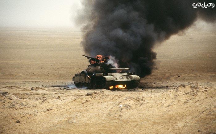آتش زدن و تخریب توسط نظامی