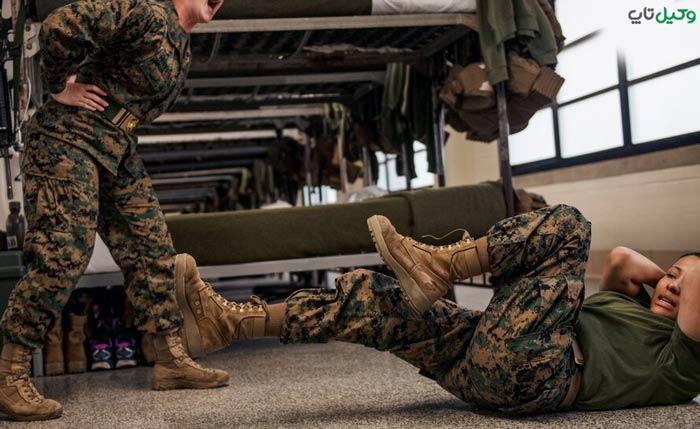 تخفیف در مجازات تا ۲ سال برای نظامی