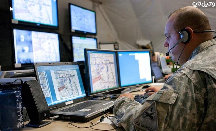 جرم تخلیه اطلاعاتی توسط نظامی