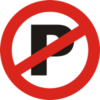 نصب تابلوی پارک ممنوع