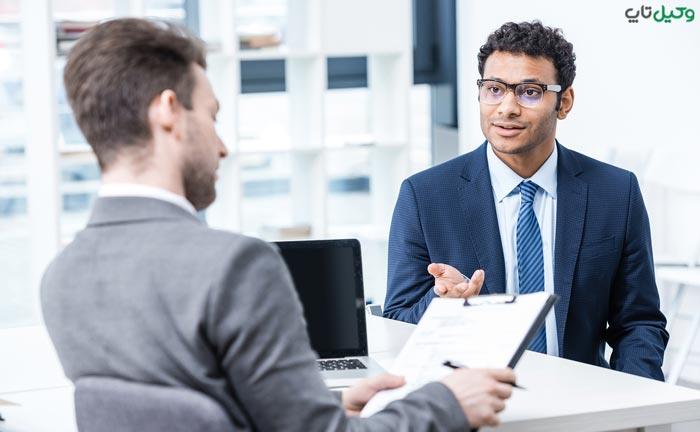 مدارک شغلی ضامن کارمند بخش خصوصی