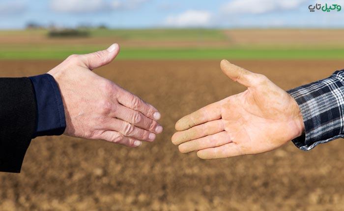 خرید زمین های کشاورزی و داخل طرح